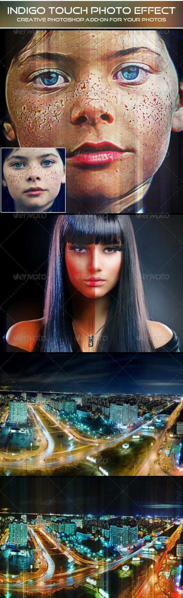 GraphicRiver Indigo Touch Photo Effect 5987923