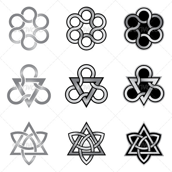 GraphicRiver Celtic Knots Models and Patterns 5988168