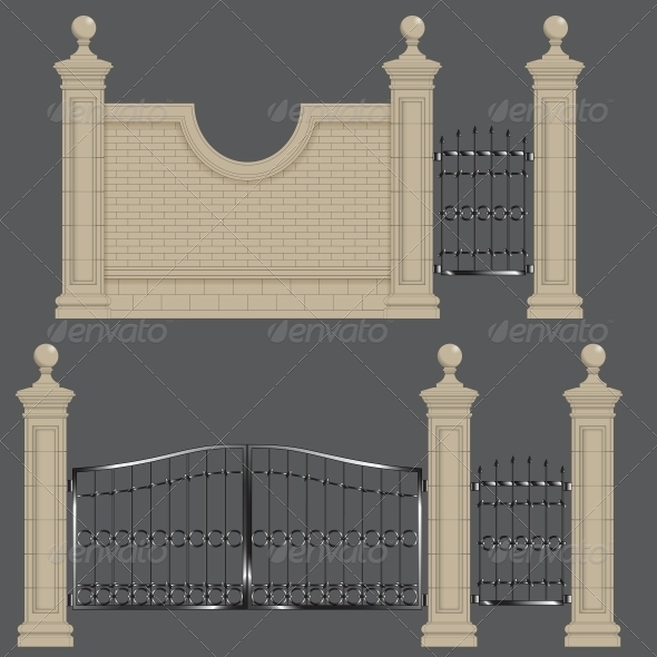 GraphicRiver Garden Gate 5988271