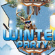 Flyer Template Winter Party - GraphicRiver Item for Sale