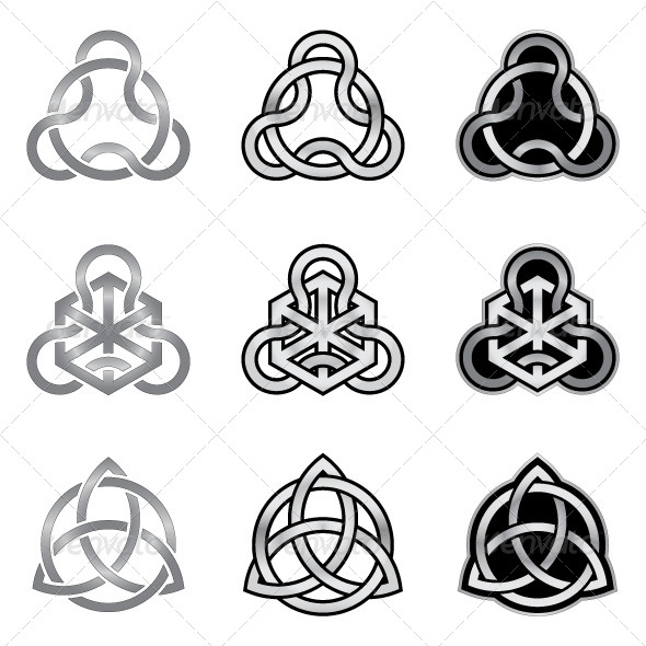 GraphicRiver Celtic Knots Models and Patterns 5988283