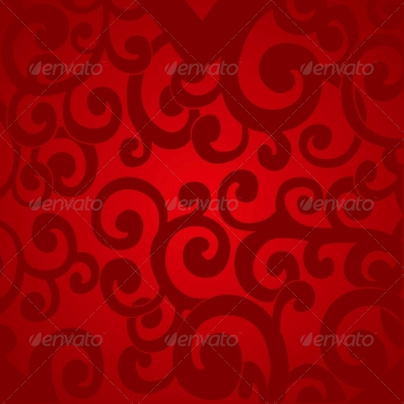 GraphicRiver Delicate Red Abstract Background 5988516