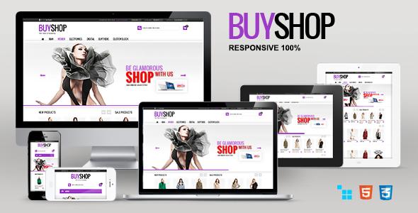 ThemeForest BuyShop Responsive Retina ready CS-Cart theme 5988687