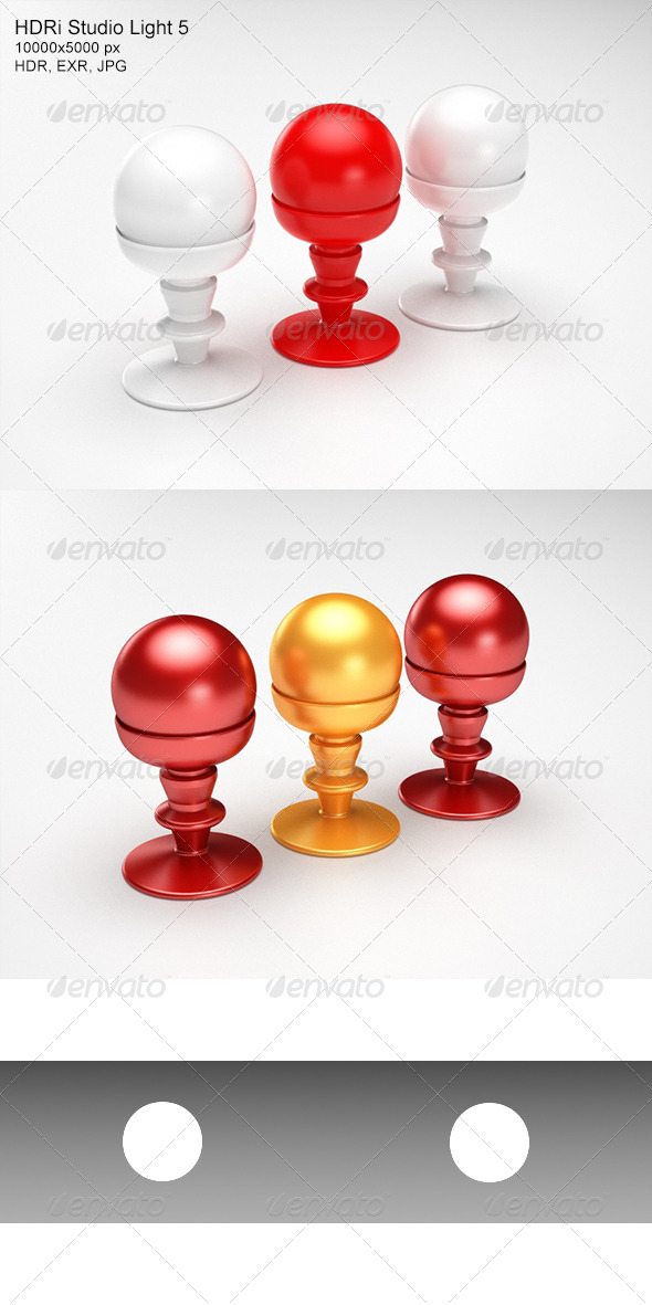 3DOcean HDRi Studio Light 5 5988901