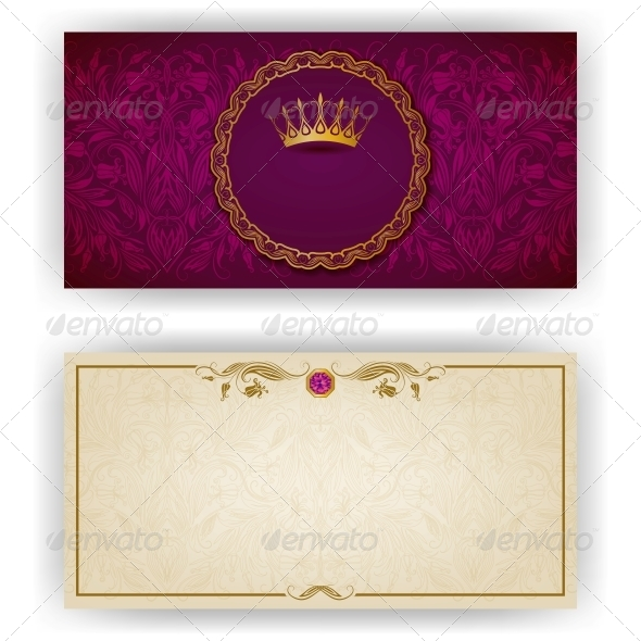 GraphicRiver Elegant Template for VIP Luxury Invitation 5988923