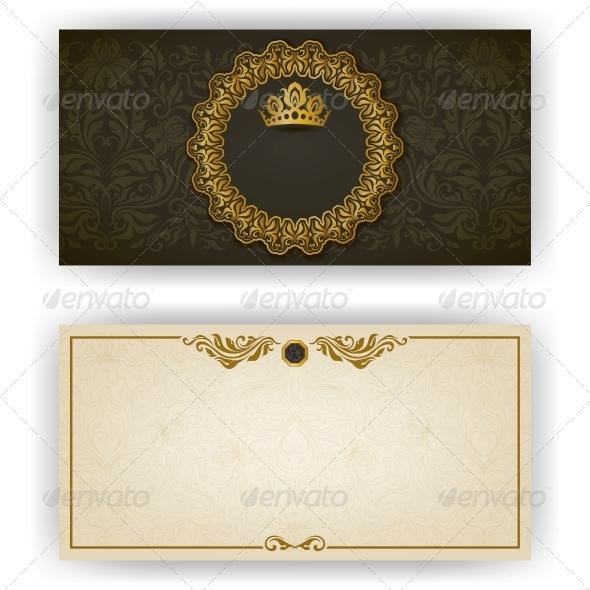GraphicRiver Elegant Template for VIP Luxury Invitation 5988937