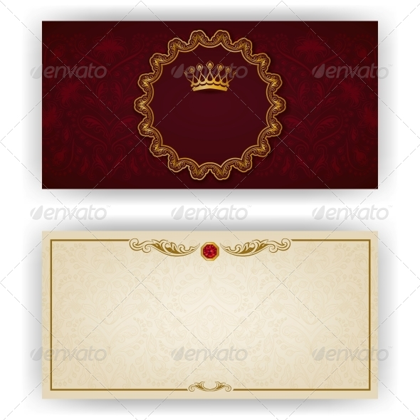 GraphicRiver Elegant Template for VIP Luxury Invitation 5988942