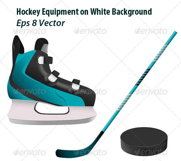 GraphicRiver Hockey Equipment 5989101