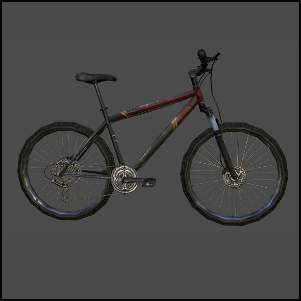 Sport Bicycle - 3DOcean Item for Sale