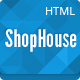 ShopHouse - Responsive HTML5 Template - ThemeForest Item for Sale