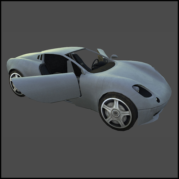 Italian Sports Car - 3DOcean Item for Sale