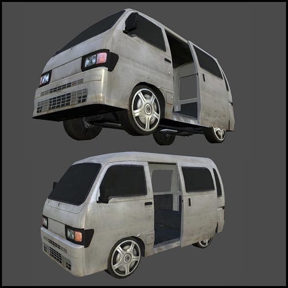 3DOcean MIni Van 5989385