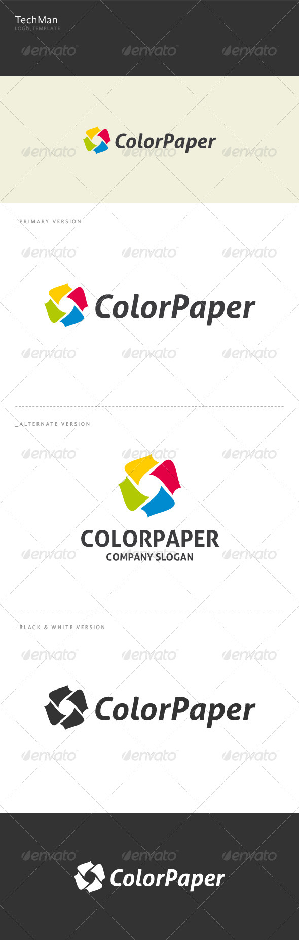 GraphicRiver Color Paper 5989612