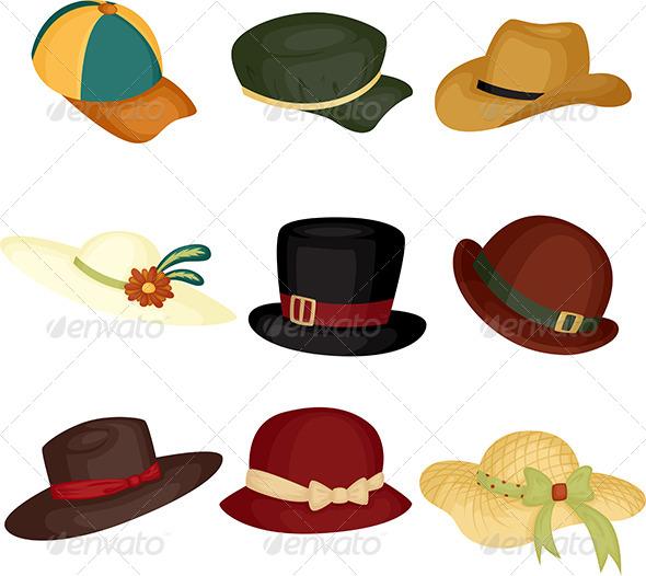 GraphicRiver Hats 5989998