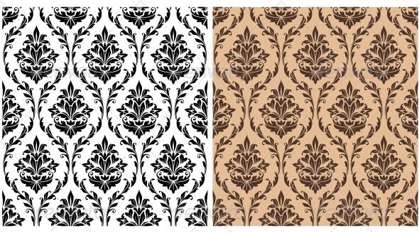 GraphicRiver Seamless Damask Pattern 5990065