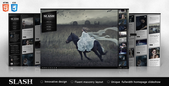 Slash HTML