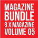 3 X Magazine Collection (Mgz Bundle Vol. 05) - GraphicRiver Item for Sale