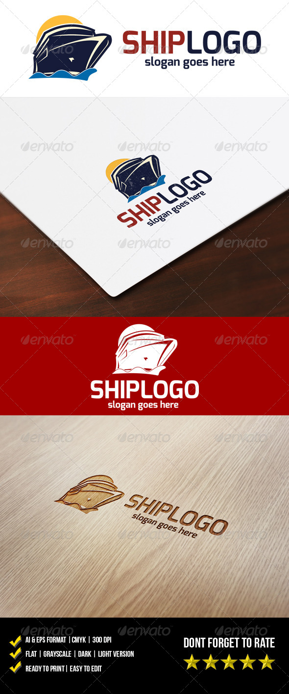 GraphicRiver Ship Logo 5990237