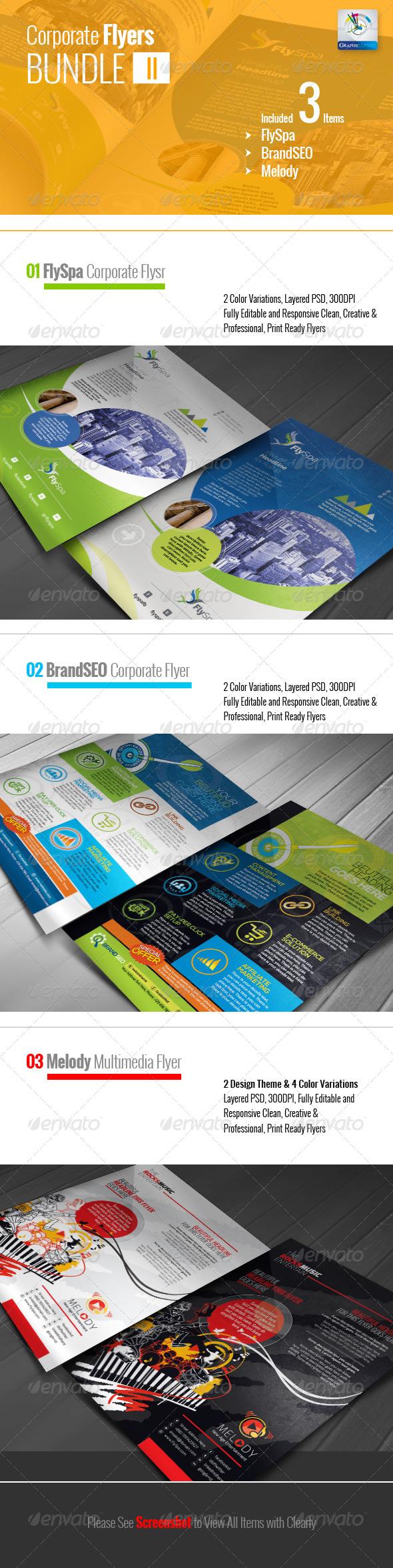 Corporate Flyer Bundle II