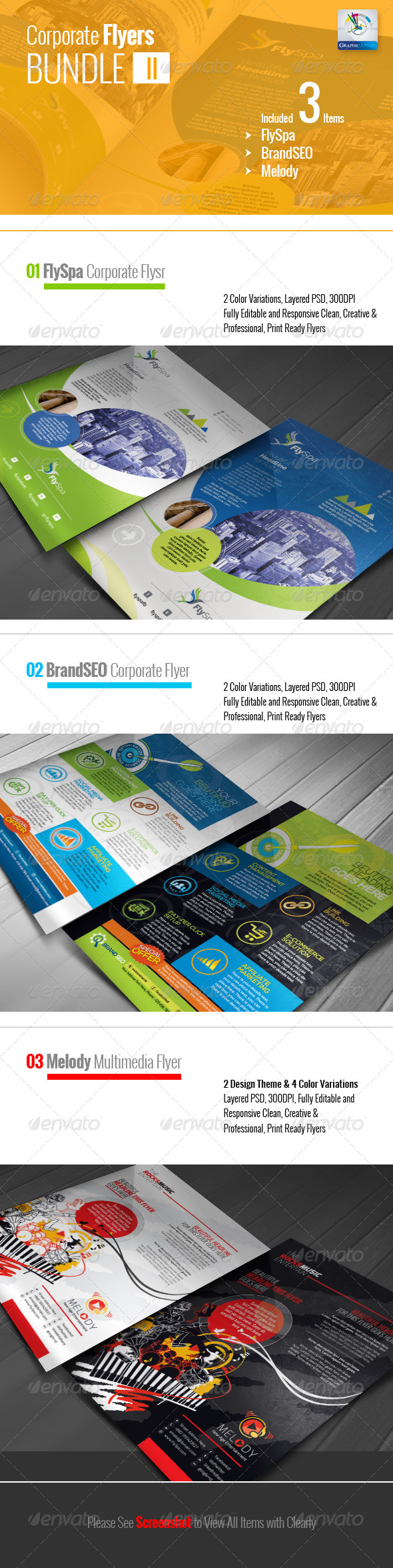 GraphicRiver Corporate Flyer Bundle II 5990370