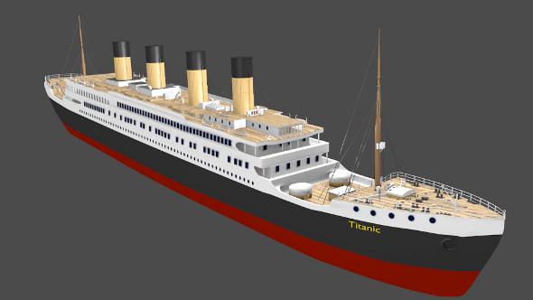 RMS Titanic - 3DOcean Item for Sale