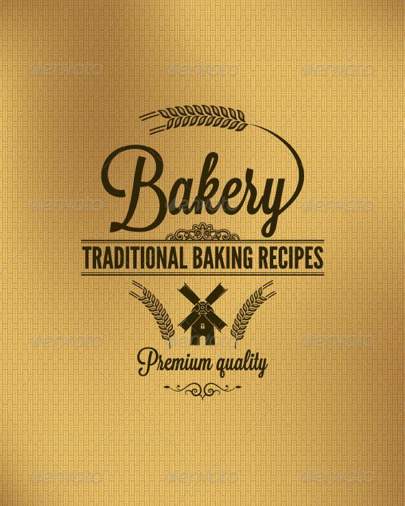 GraphicRiver Bakery Vintage Label Background 5990518