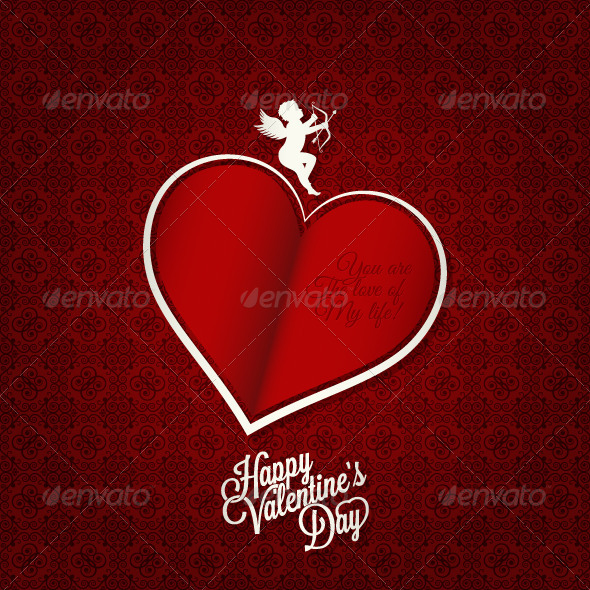 GraphicRiver Valentines Day Card Background 5990594