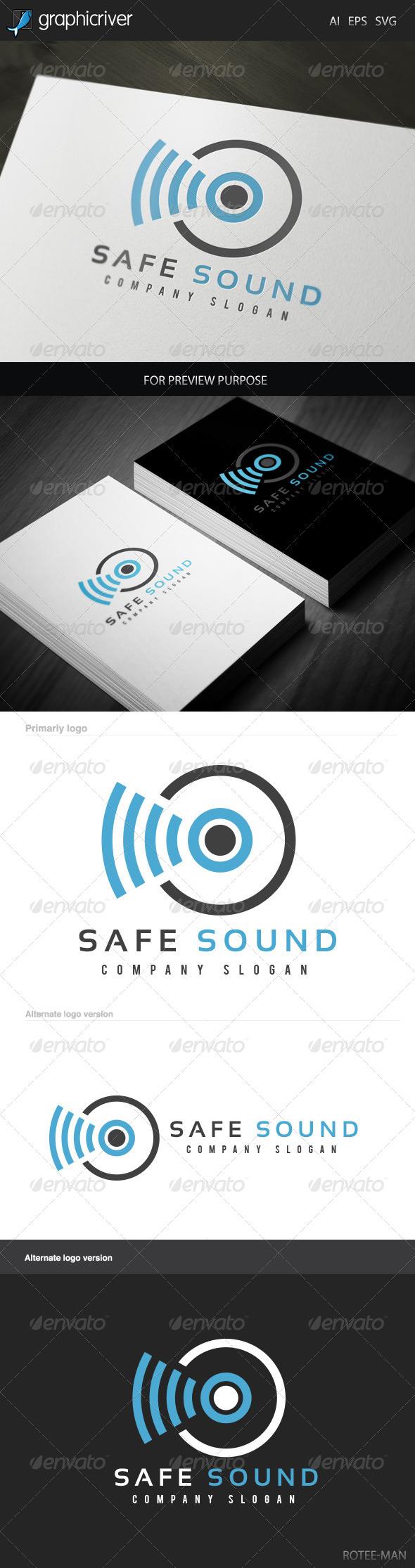 GraphicRiver Safe Sound Logo 5990695