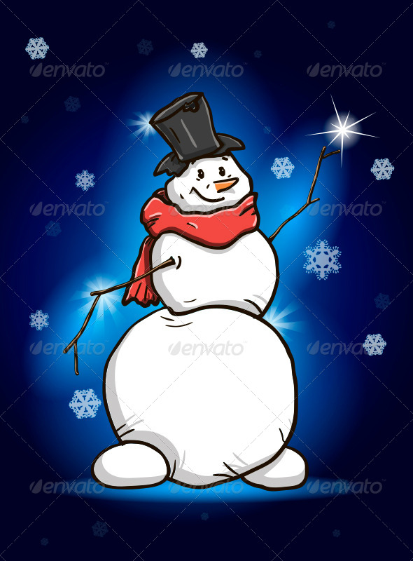 GraphicRiver Snowman 5991218
