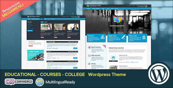 EDU - Educational, Courses, College WP Theme