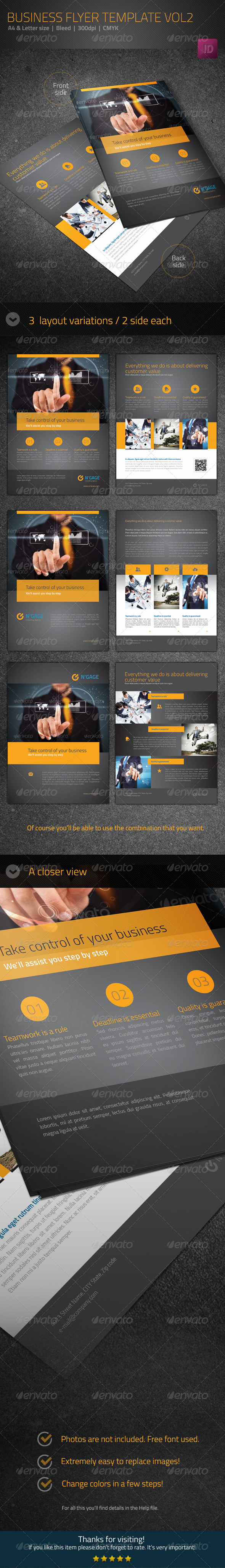 GraphicRiver Business Flyer Template Vol2 5991420