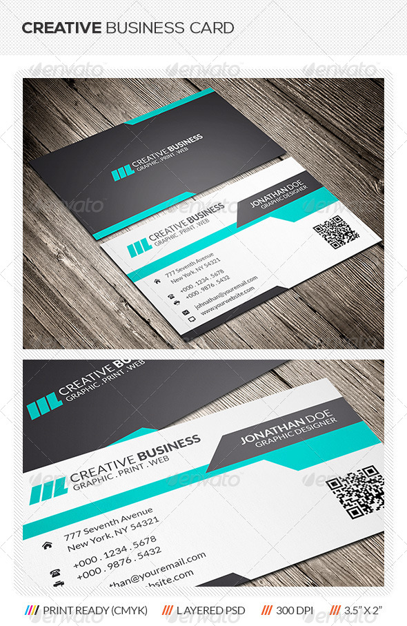 GraphicRiver Creative Business Card 5991501