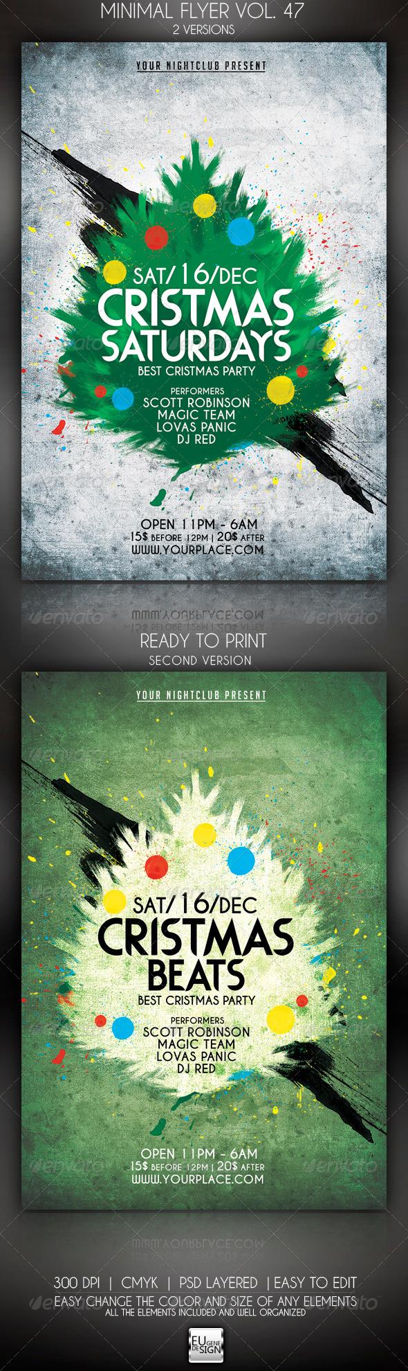 GraphicRiver Minimal Flyer Vol 47 5991533