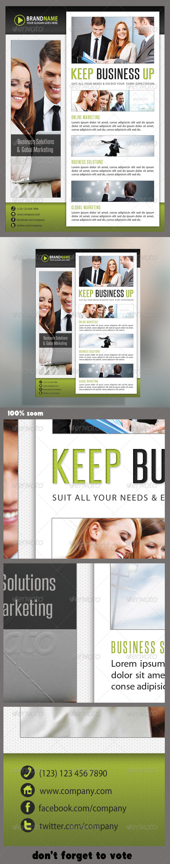 GraphicRiver Corporate Product Flyer 41 5991703