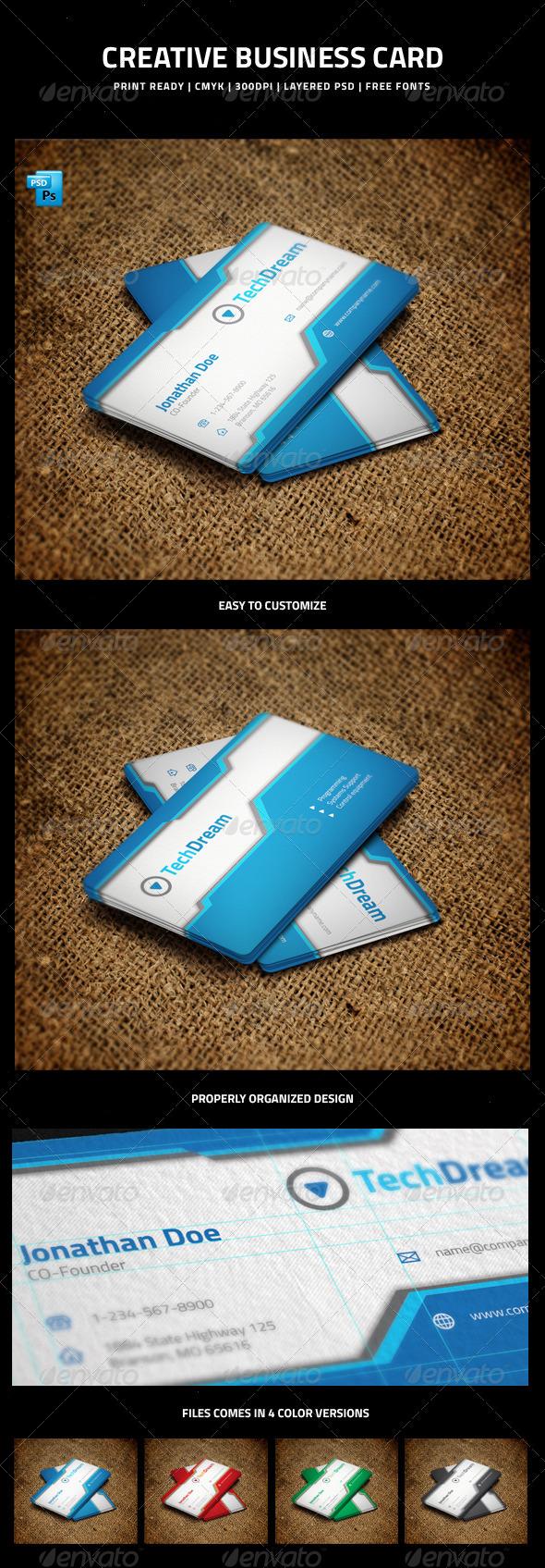 GraphicRiver Creative Business Card 5992011