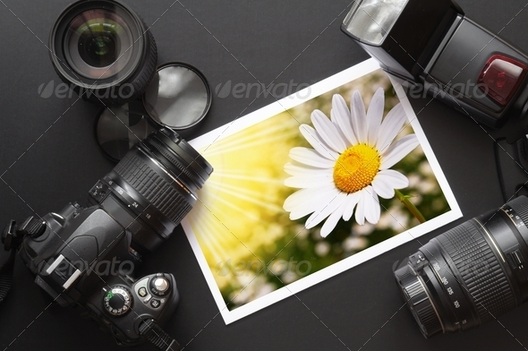 photography equipment - Stock Photo - Images