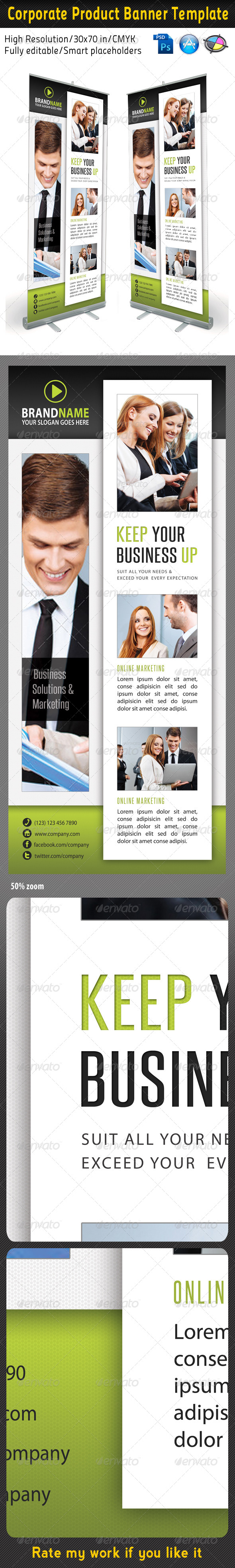 Corporate Multipurpose Banner Template 30 - Signage Print Templates