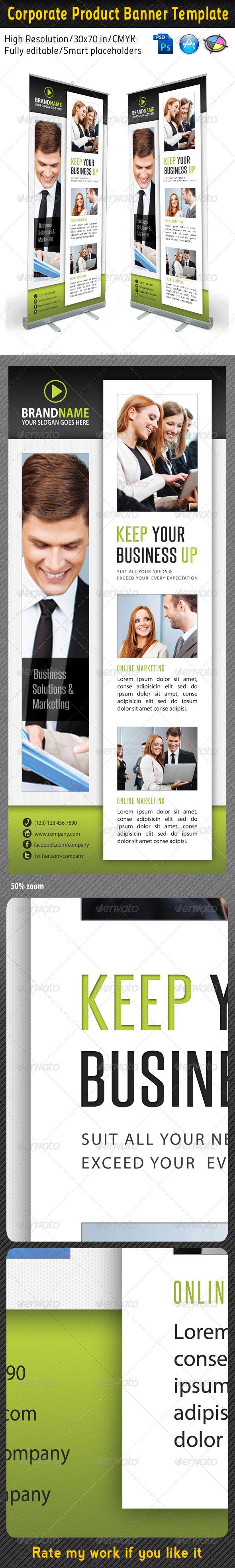 Corporate Multipurpose Banner Template 30 - Signage Print Templates