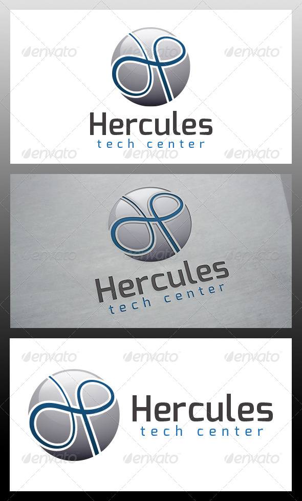 GraphicRiver Hercules Logo Template 5993528