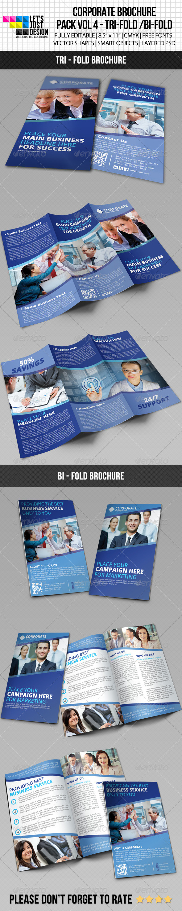 GraphicRiver Creative Corporate Brochure Pack Vol 4 5993530