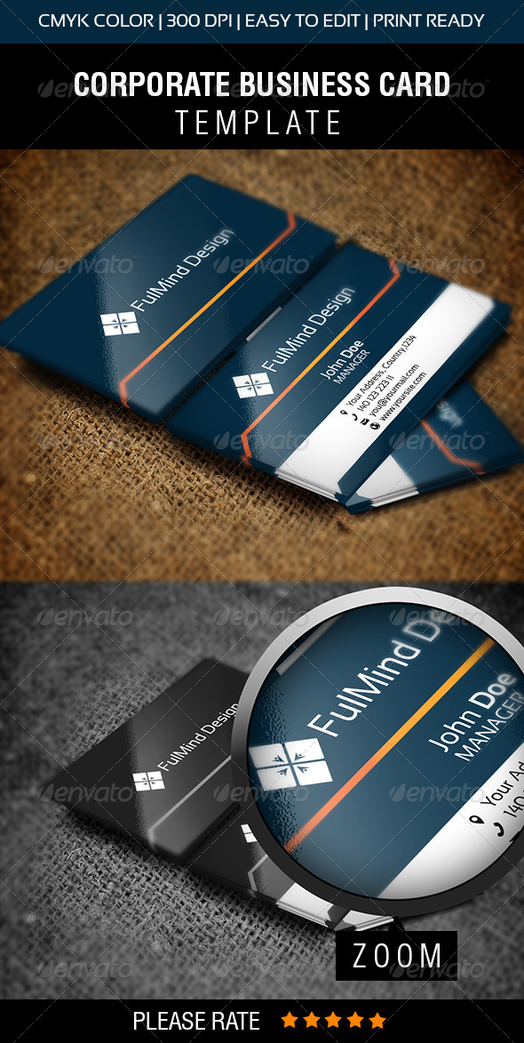 GraphicRiver FullMind Design Business Card 5993585