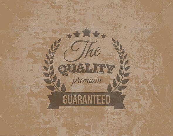 GraphicRiver Premium Quality Guarantee Label 5993610