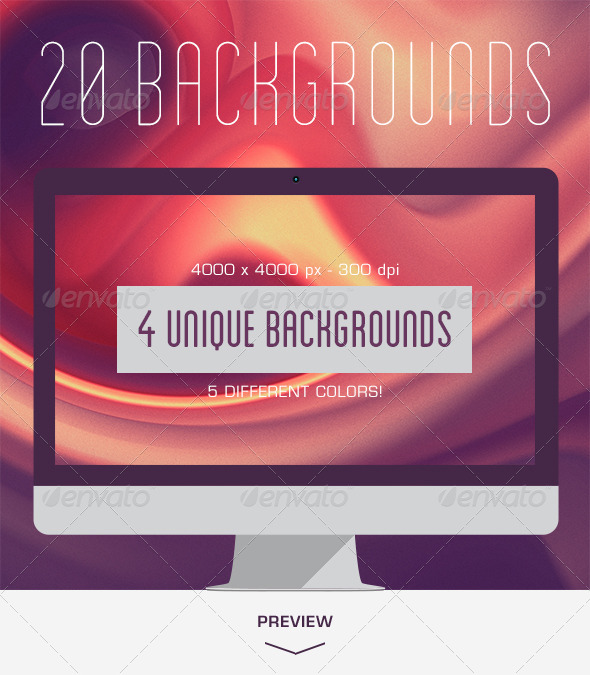 GraphicRiver 20 Dreamy Backgrounds V.01 5993623