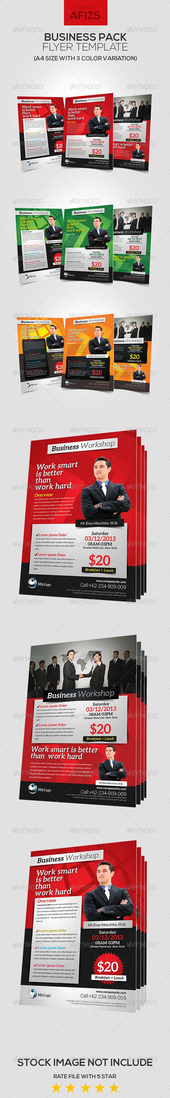 GraphicRiver Business Workshop Flyer 5993626