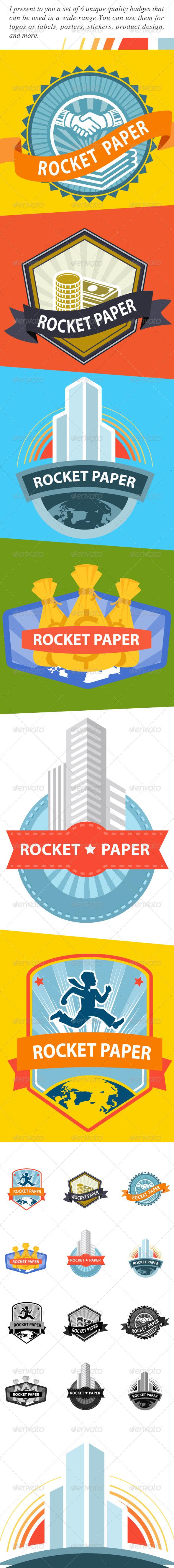 GraphicRiver Rocket paper 5993635