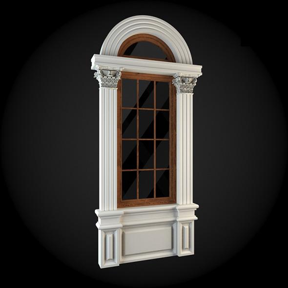 Window 030 - 3DOcean Item for Sale