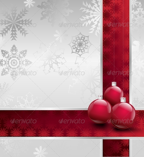 GraphicRiver Christmas Decorations Background 5993728