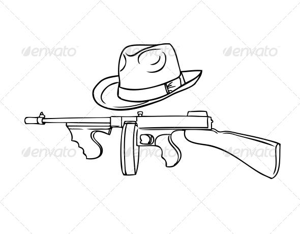 GraphicRiver Gangster Set 5993737