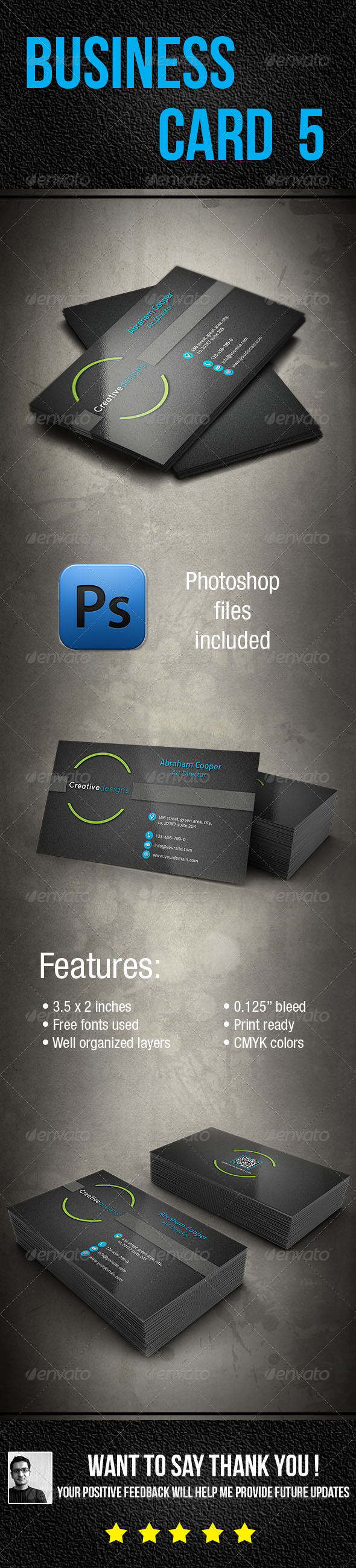 GraphicRiver Business Card 5 5967045