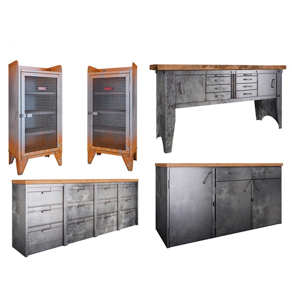 Metal Furniture - 3DOcean Item for Sale